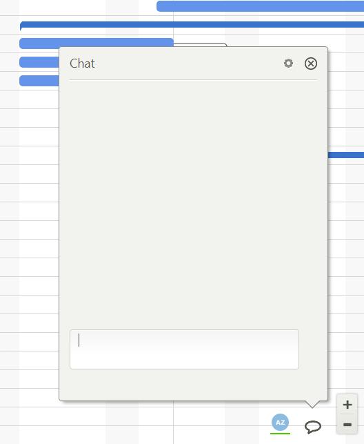gantt chart chat