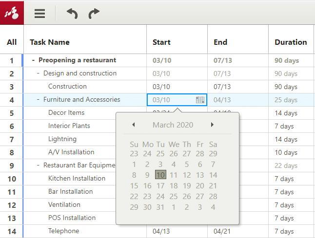 gantt chart software