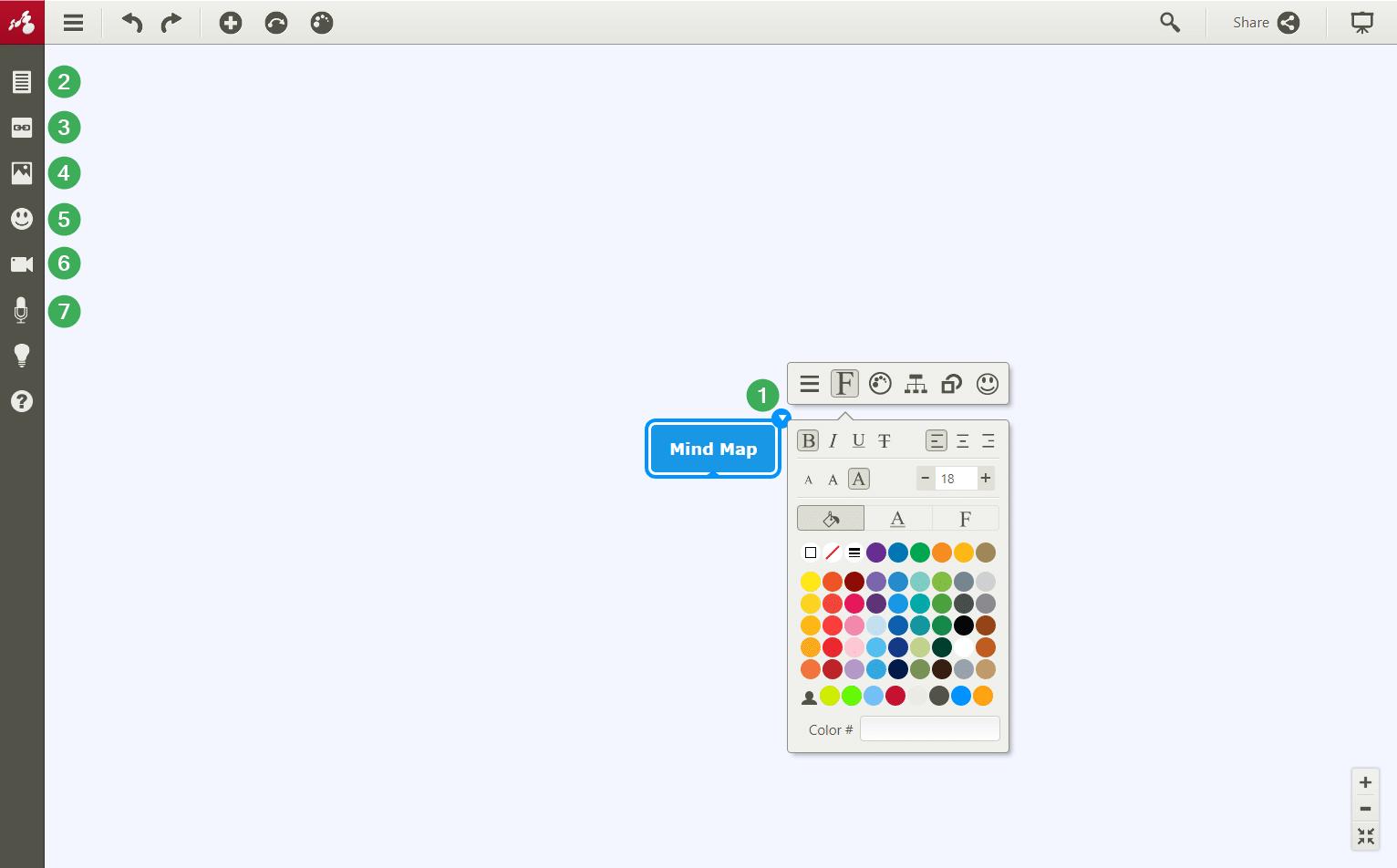 customize mind map app