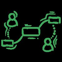 collaboration on a gantt chart software