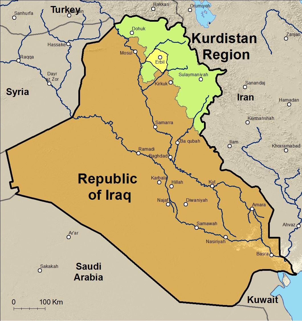Cartina Kurdistan.Kurdistan Mappa Mentale Schema