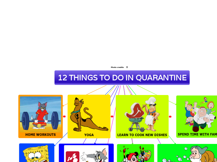 12 THINGS TO DO IN QUARANTINE